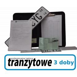 Profesjonalne tablice tranzytowe 1 doba