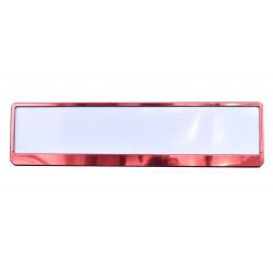 Ramka metalizowana czerwona