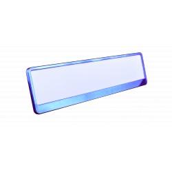 Ramka metalizowana niebieska